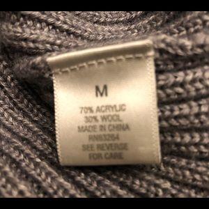 Dress Barn Sweaters - Dress Barn gray cowl neck sweater, medium